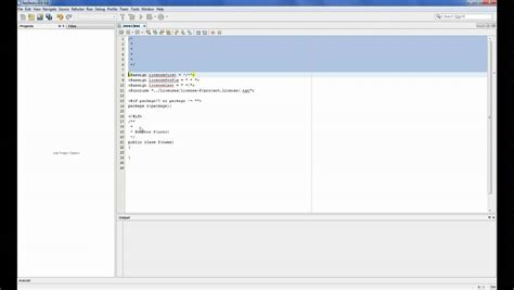 templates for java netbeans 6 8 changing the template for the java class