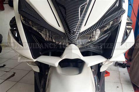 Cover Kuping Spakbor Aerox 155 Vva Carbon bodykit mhr buat aerox