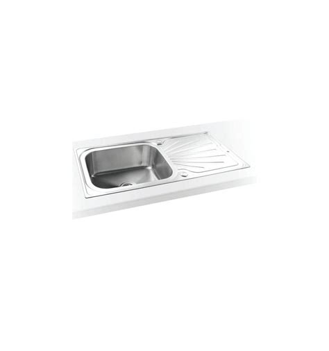 Large Kitchen Sink With Drainer Sapphire Large Single Bowl Drainer Drainer Inset Kitchen Sink Reversible