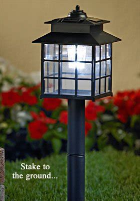 craftsman style solar lights mission ls lighting stained glass arts crafts