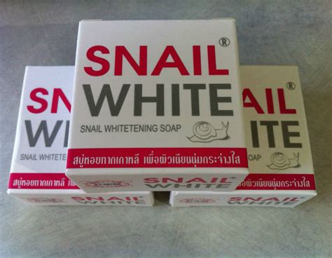 Tofu Soap By Skinwhite Thailand snail white whitening soap 75g thailand best selling products