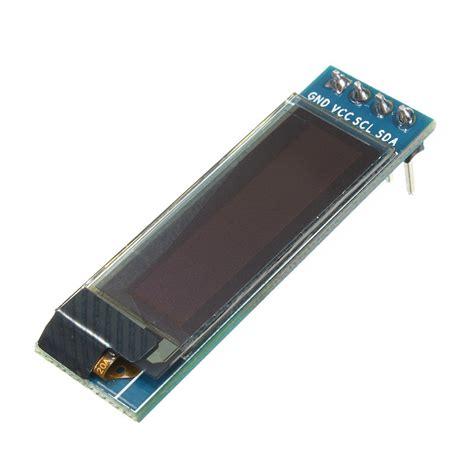 Oled Module 2 Colors White And Blue 0 91 inch 128 215 32 iic i2c blue oled lcd display diy oled