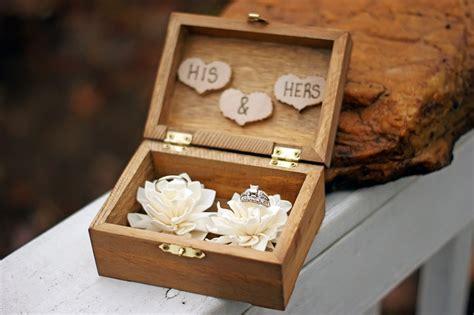 Wedding Box For Rings by Wedding Ring Box Wedding Ring Holder Ring Bearer Box