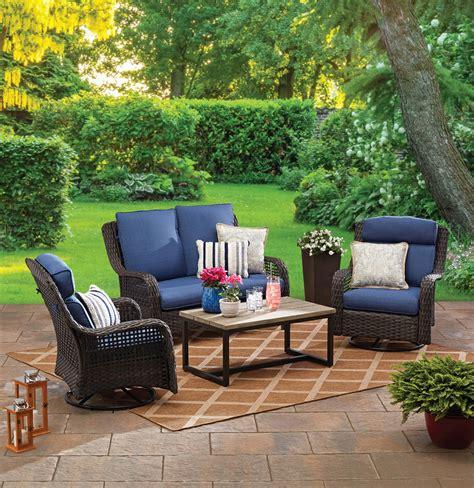homes gardens ravenbrooke  piece patio furniture