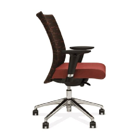 stylex mid back ergonomic office task chair insight