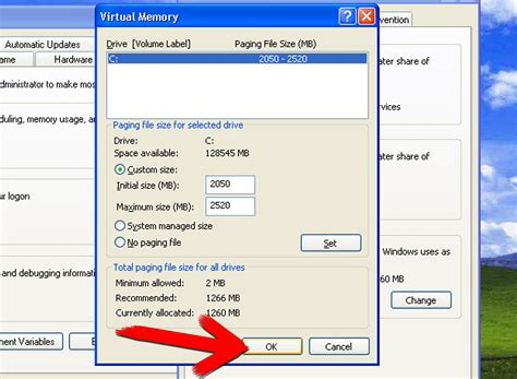 Ram Windows Xp how to increase windows xp memory for 5 steps
