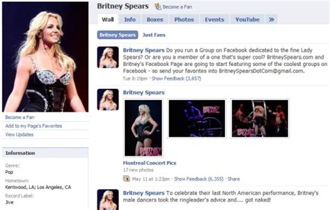 celebrity page on facebook 5 lessons celebrities can teach us about facebook pages