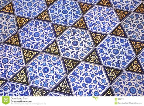 Turkish Handmade - royalty free stock images handmade turkish tiles image