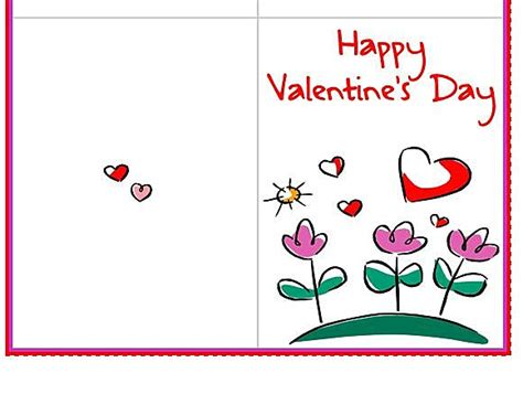 free printable valentines card templates don t get your any of these gifts for s day