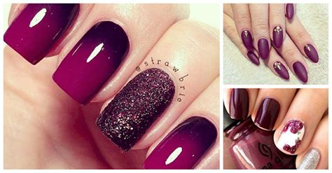 plum nail color 12 plum nail options that will make you fall in