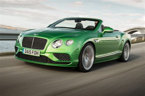 bentley convertible 2016 bentley continental gt speed convertible first test