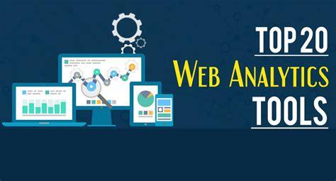 best web analytics tools top 20 web analytics tools