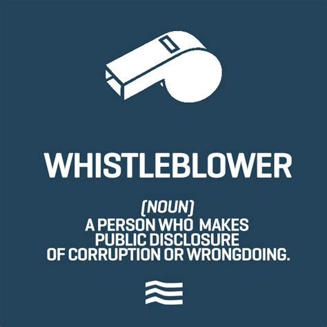 Whistle Blower whistleblowers lotus guide