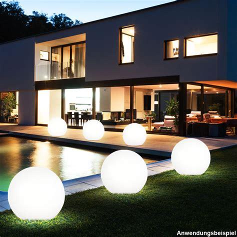 terrassenbeleuchtung solar 2 x led solar garten kugel au 223 en leuchte nacht licht le