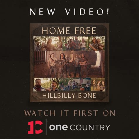 shelton hillbilly bone shelton s quot hillbilly bone quot by home free
