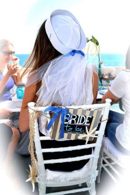 chic nautical themed bridal shower ideas weddingomania