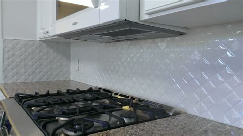 Large Tile Kitchen Backsplash Kitchen Backsplash Porcelanosa Prisma Nacar Large