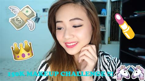Eyeshadow Viva Harga dandan modal rp 150 000 doang 150k makeup challenge