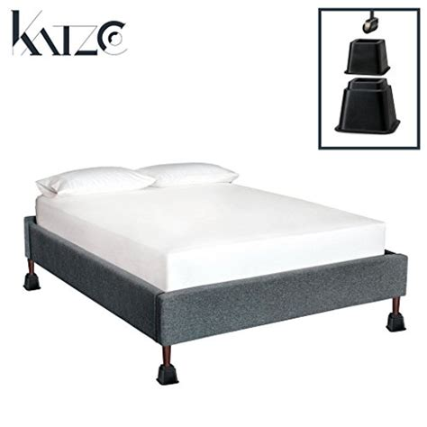 tall bed risers bed risers adjustable heavy duty 8 piece set 3 or 5 or
