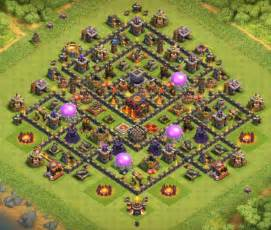 10 best th10 hybrid bases with 2 bomb tower 2017 cocbases