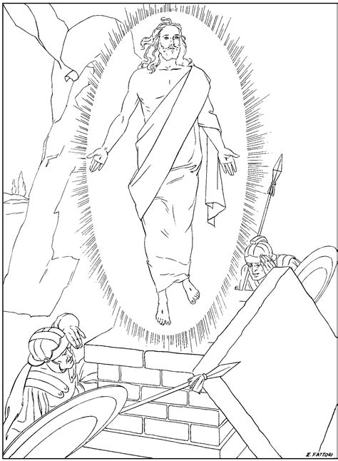 free coloring pages of rosary beads