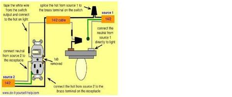 switch receptacle combo wiring diagram outlet switch combo wiring diagram efcaviation