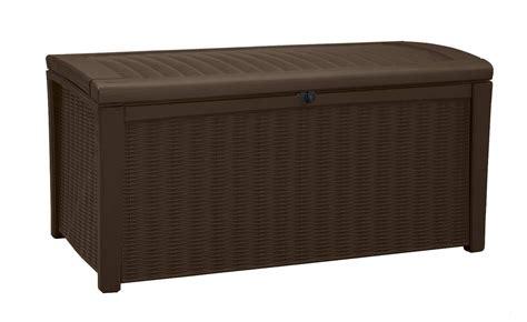 coffre pvc jardin keter borneo storage box obrn1 269 50 landera outdoor storage and furniture