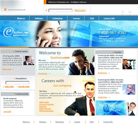 Mobile Conference Css Template 0365 Communications Website Templates Dreamtemplate Conference Website Template Free
