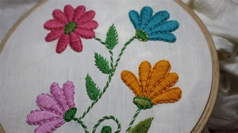 embroidery applique tutorial embroidery designs satin stitch stitch and flower