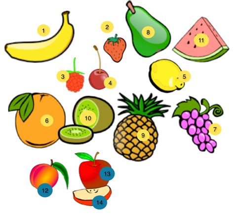 fruit in german german vocabulary fruits and vegetables