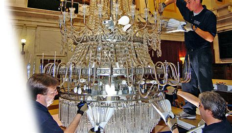 Acu Bright Chandelier Cleaning Restoration And Repair Cleaning Chandelier