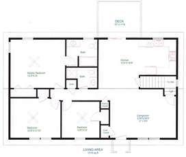 House With Floor Plan by Floor Plans For Homes Backyard House Plans Floor Plans