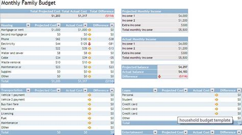 2017 s best free budget templates wallethub 174