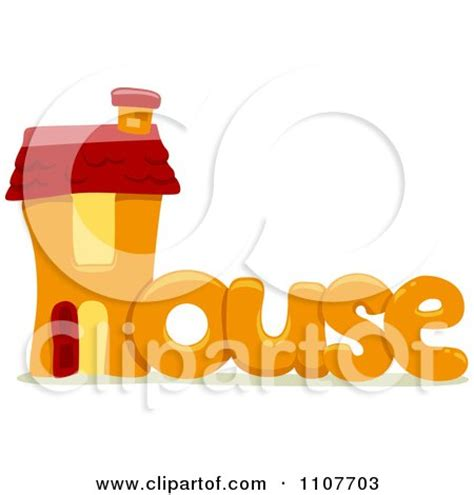 house synonym clipart the word house for letter h royalty free vector illustration by bnp design