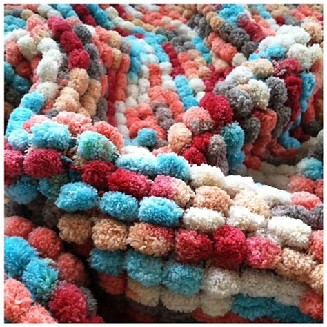 doodlebug yarn pomp a doodle baby blanket i creating gifts using