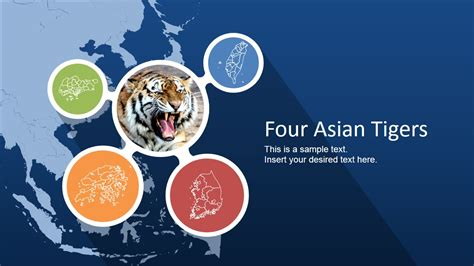 four asian tigers powerpoint template slidemodel