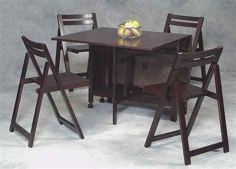 Folding Dining Table Sets Brown Foldng Furniture For Dining Place Part Of Furniture Excellent Folding Dining Table