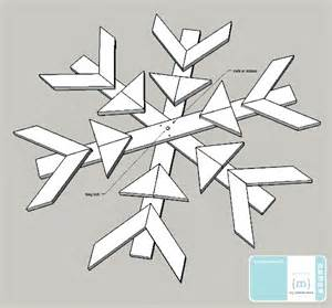 big snowflakes decorations how to make a wooden snowflake with my altered state