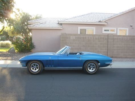 1965 corvette 365hp convertible new price drop