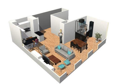 cr 233 er un plan de maison support marvelous comment amenager salon salle a manger 4