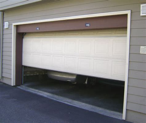 garage door security securing garage doors garage security tips