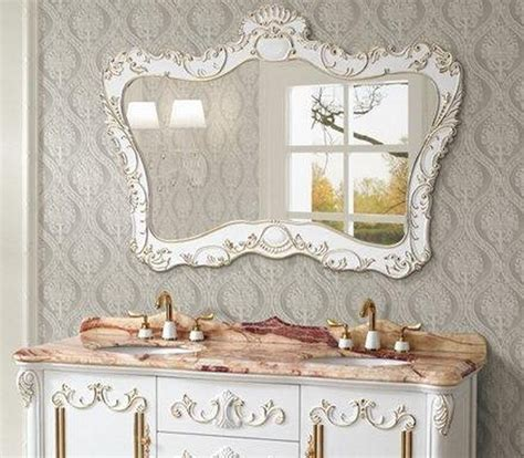 Antique White Bathroom Mirror Antique White Tv Stand Canada Home Design Ideas