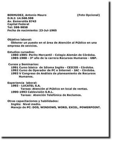 Modelo De Curriculum Vitae Mexico Clothes And Stuff Curriculum Vitae Ejemplos Mexico