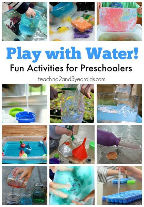 Top 7 Water Activities For Summer by 1086 Best Teaching 2 And 3 Year Olds Activities Images On