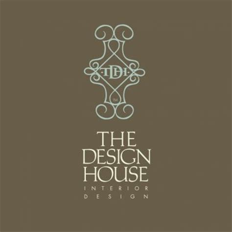 the design house interior design boutique logo