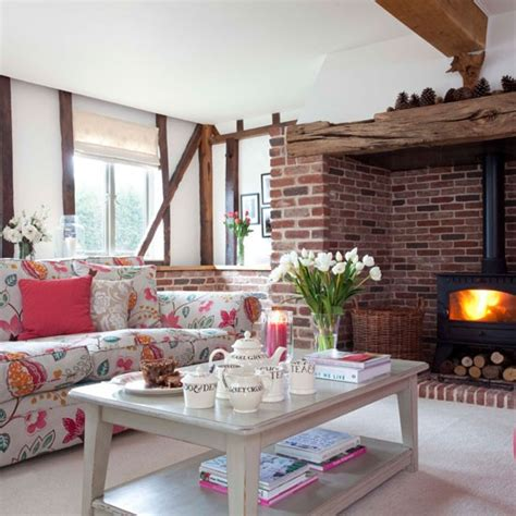 country livingroom country style living room cosy living room design ideas