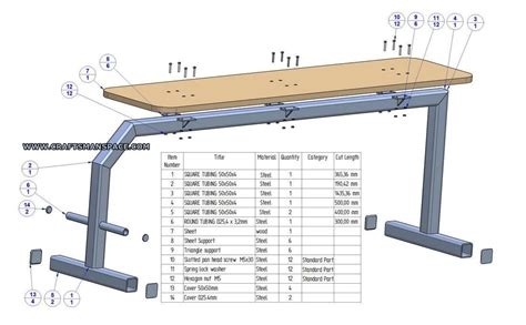 bench press dimensions modal title