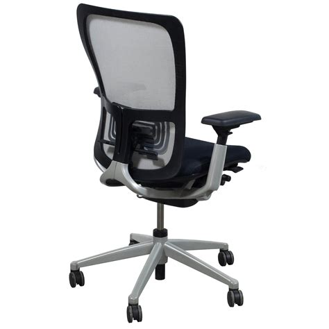 Haworth Zody Chair by Haworth Zody Used Task Chair White Mesh National Office