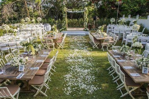 backyard wedding ceremony and reception best 25 backyard wedding ceremonies ideas on pinterest