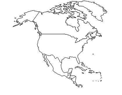 America Outline by Printable Outline Of America America Outline Downloads 228 Recommended 1
